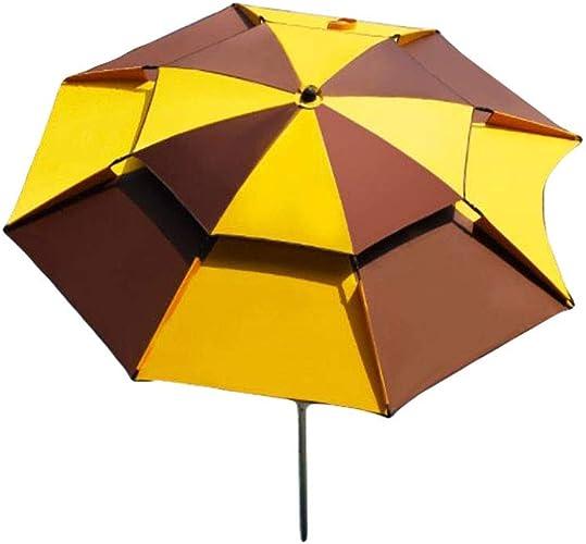 Parapluie extérieur Parapluie de pêche Parapluie de pêche Pliant Parapluie épaississeHommest Universel écran de pêche Solaire (Couleur   A, Taille   1)