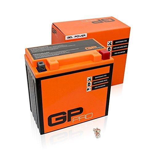 GP-PRO GB16CL-B 12V 9Ah GEL Batteria di avviamento (simile a YB16CL-B / CB16CL-B) (Esente da manutenzione / Sigillato) Moto Accumulato