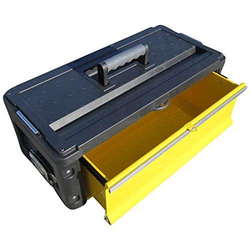 Erweiterungsbox Werkzeugkiste mit 1 Lade für unsere Trolleys Serie 305 von AS-S