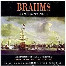 Brahms Symphony 1 Academic Festival Overture by Georgian Simi Festival Orchestra