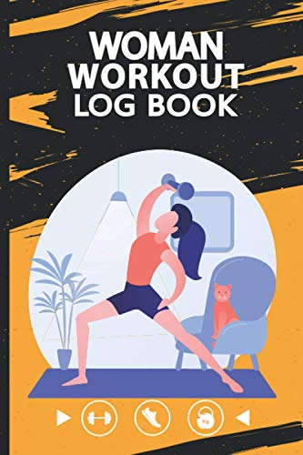 Women Workout Log Book: The Ultimate WOD Log Book, From Beginner to Ballistic Cross Training Workouts, Personal Planner WOD Training Log Book, Undated Book 6x9 in 120 Pages