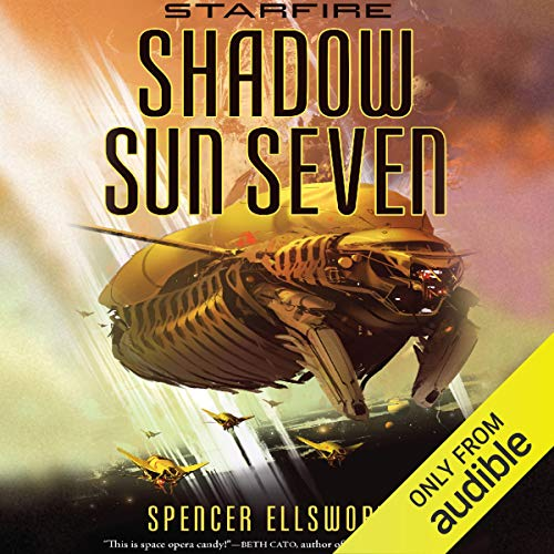 Shadow Sun Seven audiobook cover art