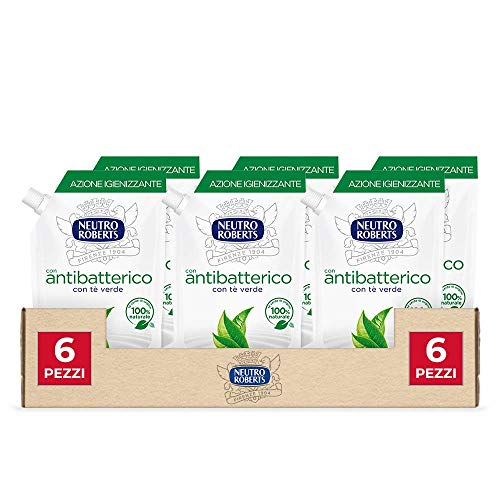 Neutro Roberts - Jabón líquido Ecopouch, antibacteriano, 2500 ml