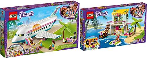Lego® Friends 41428 41429 - Casa de playa con barco a pedales y avión Heartlake City