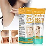 Underarm Whitening Cream, Crème Blanchissante, Skin Lightening Cream, Armpit Whitening Cream, Skin Bleaching Cream Effective for Armpit, Knees, Sensitive & Intimate Parts - 60ML …