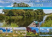 Das Kitzinger Land - Wandern und Radfahren mit Kunst und Kultur (Tischkalender 2022 DIN A5 quer): Das Kitzinger Land im Rhythmus der Jahreszeiten (Monatskalender, 14 Seiten )