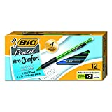 BIC Xtra-Comfort Mechanical Pencil, Medium Point (0.7mm), 12 Count