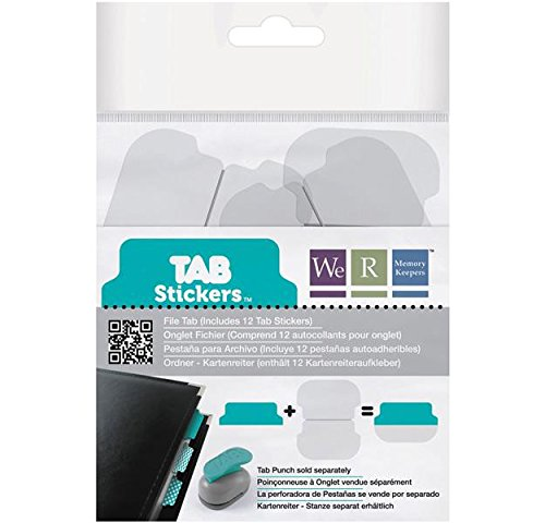 Tab We R Memory Keepers File Stickers