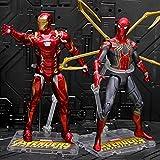 Vengadores: Final De Partida De Hierro del Hombre Araña De Iron Man Niños 18CM El Papel del...
