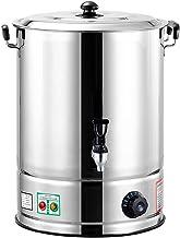 Beker Heetwaterdispensers Roestvrijstalen Horeca Urn Met 30-110 ° C Thermostaat, Commerciële Kwaliteit Heet Water Koffie T...