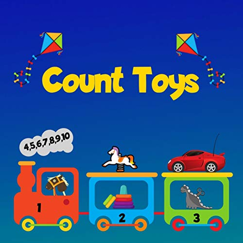 Count Toys: Fun Picture Puzzle books For 2-5 Yers Old (English Edition)