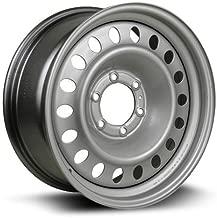 RTX, Steel Rim, New Aftermarket Wheel, 18X8 6-139.7 106.1 +25 Black finish X48639
