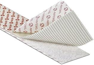 10 cm ANCHO genuino Velcro/® lipoprote/ína adhesivas abolicionismo en cinta trasera blanca