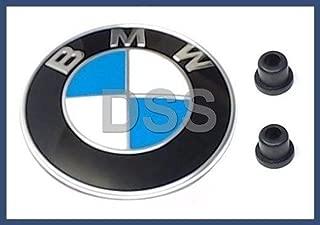 BMW (1987-2010) front Hood engine lid / Trunk lid EMBLEM badge KIT oem for e30 e32 e34 e36.7 e36 e38 e60 e61 e85 f01 f02 f07