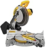 DEWALT Miter Saw, Single Bevel, Compound, 10-Inch,...