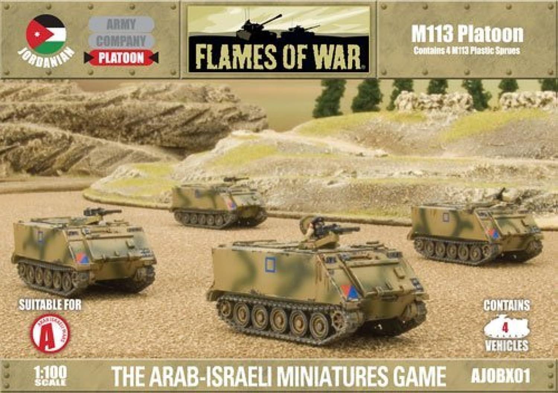 protección post-venta War Juegos - - - Jordanian - M113 Platoon - 1 100 Scale - Flames Of War by Battlefront Miniatures  salida para la venta