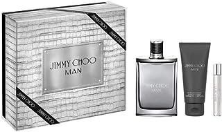 Jimmy Choo Man Eau de Toilette 100ml+100ml Asb + 7.5ml Mini Set