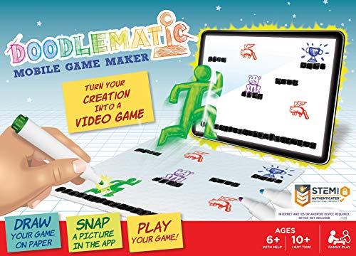 Doodlematic: Transform Creative Drawings To Animated Playable Kids Games On Your Mobile Device -...