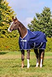Bucas Freedom Turnout Pony 150g - Navy/Silver, Groesse:115