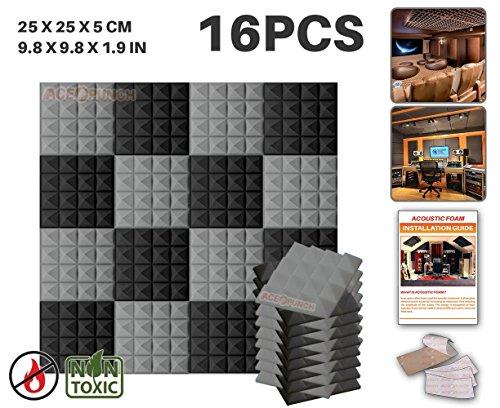 Ace Punch 16 Paquete 2 Colores Espuma Pirámide de Combinación...