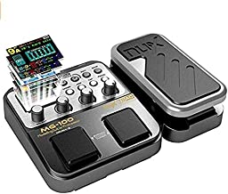 Asmuse Guitar Multi Effect Pedal MG100 Professional Processor with 58 Drum Types 55 Effect Modes 40s Looping 10 Sounds 3 E...