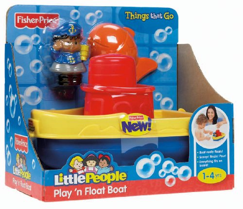 Fisher-Price - X0059 - Jouet de Premier Age - Bateau - Little People
