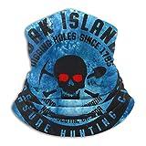 Oak Island Treasure Hunters Neck Gaiter Warm Face Mask Breathable Neckerchief Face Cover Scarf For Ski