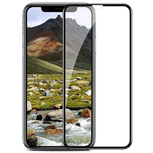 TENDLIN Kompatibel mit iPhone 11 Pro Panzerglas / iPhone XS Panzerglas / iPhone X Panzerglas Schutzfolie Full Cover Staubdicht Einfache Installation Premium Gehärtetes Glas Displayschutz