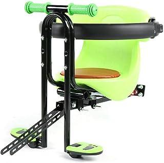 صندلی دوچرخه قابل حمل کودک YIYIBYUS DENESTUS با پدال پا نصب آسان دوچرخه صندلی کودک صندلی ایمنی ایمنی کمربند ایمنی سگک ضخیم زین نرم پایه آلیاژ آلومینیوم پایه سهام ایالات متحده