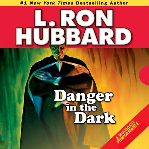 Danger in the Dark audiobook cover art