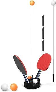 Tafeltennistrainer Tafeltennistrainer Met Elastische Pingpongbaltrainingsmachine Voor Beginners En Gevorderden