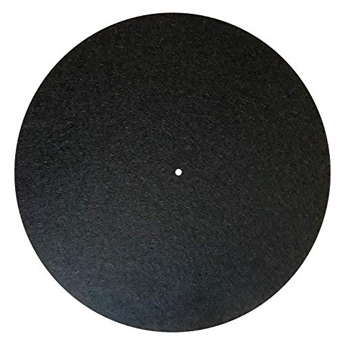 Rega Filzmatte (schwarz)