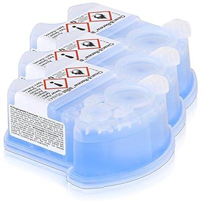 Braun CCR Clean and Renew Refill Cartridges, Lemon Fresh Formula, 3 Pack by Braun