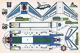 RECORTABLES SERIE AYER Y HOY. VIRGILI LUIS ESTEBAN. Transbordador Columbia...