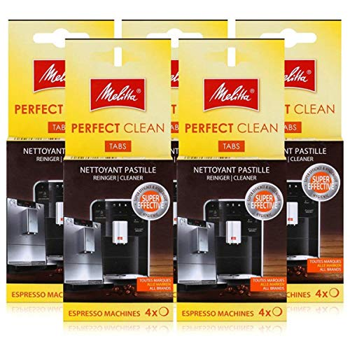 Melitta Perfect Clean Espresso Machines ReinigungsTabs 4x1,8g (5er Pack)
