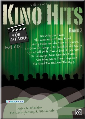 Kino Hits 2 - Gitarre Noten mit CD [Musiknoten]