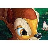 YeeATZ Puzzles para adultos 1000 piezas Bambi: cartel animado cubierta rompecabezas 1000 piezas para adultos niños – juguetes educativos DIY regalo divertido juego 75 x 50 cm
