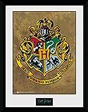 Harry Potter 1art1 Hogwarts Wappen Gerahmtes Bild Mit Edlem