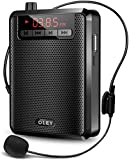 Voice Amplifier Portable Bluetooth 30W 3200mAh Rechargeable PA System Speaker for Multiple Locations Such as Classroom, Meetings and Outdoors