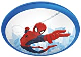 Philips Marvel Spiderman LED Deckenleuchte, blau/rot, 717604016