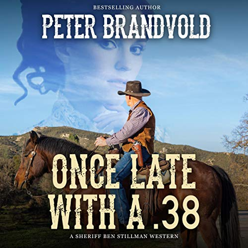 Once Late with a .38 audiobook cover art