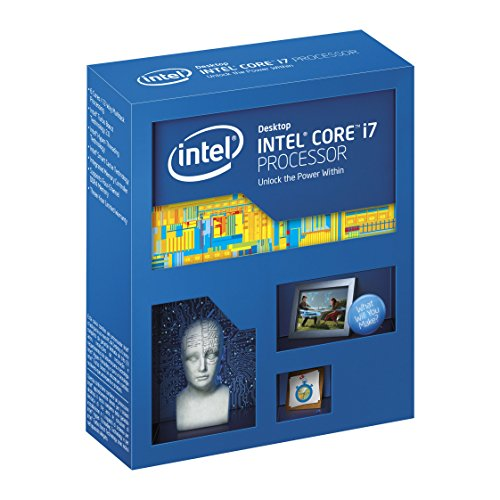 Intel Core i7 5820 K Unlocked S 2011 – 3 t-Topology 6 Core, 15 MB Procesador