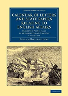 Calendar of Letters and State Papers Relating to English Affairs 2 Volume Set: Preserved Principally in the Archives of Si...