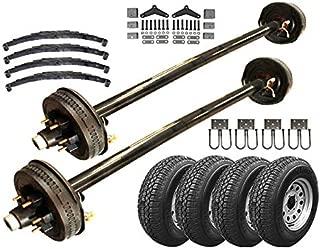 5.2k Heavy Duty Tandem Axle TK Trailer kit - 10,400 lb Capacity (73
