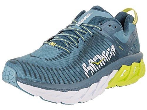 HOKA ONE ONE Men's Arahi 2 Running Shoe Niagara/Midnight Size 12 M US