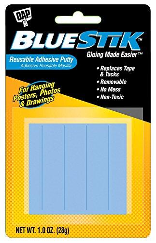 Dap Blue Stik Reusable Adhesive Putty-1 Ounce, 1 Pack