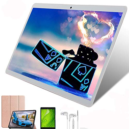 Tablet 10 Pulgadas ,8-Core 64GB ROM 4GB RAM,4G LTE WiFi Batería...