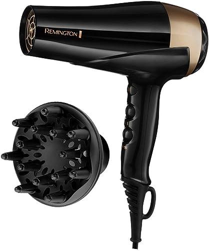 Dessange Remington Sèche-Cheveux 2200W Ionique, Sublime l'Eclat des Cheveux Naturels et Colorés - D6092DS