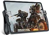 GCX Exquisito Controlador de Juegos móviles para iPad/tabletas, Juego de Seis Dedos Joystick Mango Troderger Button L1R1 L2R2 Shooter Gamepad para PUBG/FORNITE/Cuchillos out/Call of Duty Durable