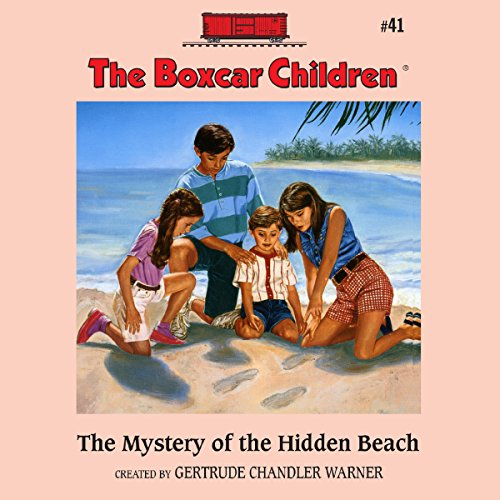 The Mystery of the Hidden Beach audiobook cover art